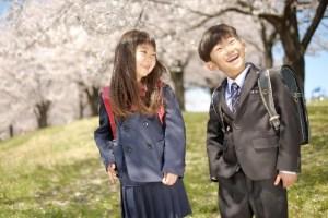 小学校への入学式の子供服