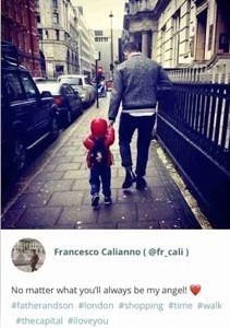 フランチェスコ・カリアーノと子供