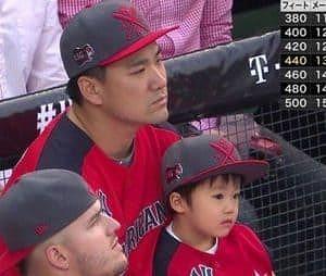 田中将大と子供