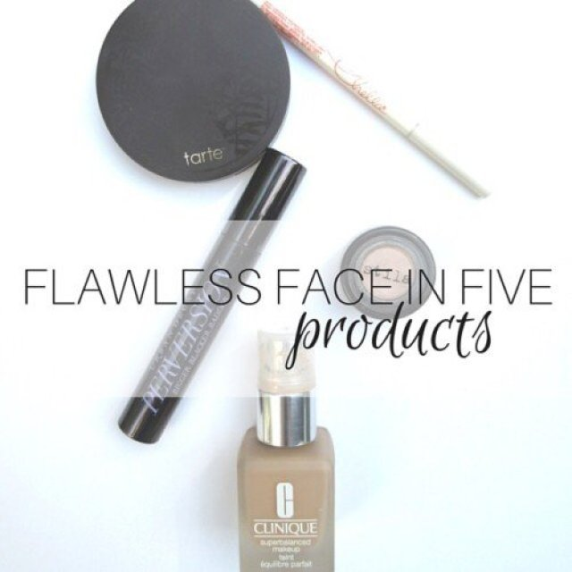 Flawless Face In 5 Products