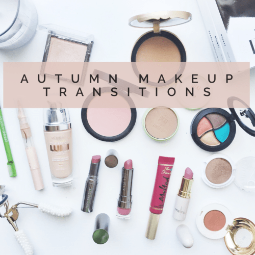 Autumn Makeup Transitions