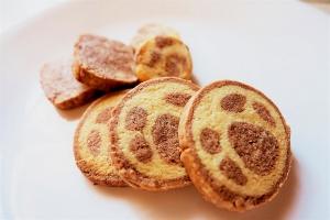 肉球☆アイスボックスクッキー:楽天レシピのススメ
