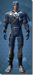 Republic Officer - Male Front