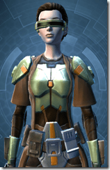 Jedi Battlelord - Female Close