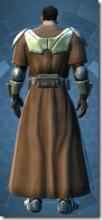 Jedi Battlelord - Male Back