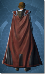 Shrouded Knight - Male Back