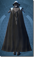 Sith Champion - Female Back