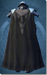 Sith Champion - Male Back