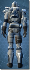 RD-15B Commando Imp - Male Back