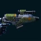 Campaign Combat Tech's Blaster Pistol