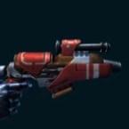 Campaign Supercommando's Blaster Pistol