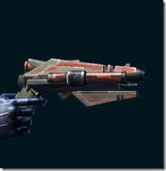 Dread Guard Elimiantor's Blaster Pistol