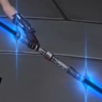 Warmaster's Double-Bladed Lightsaber*
