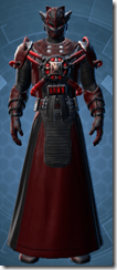Firebrand Inquisitor Animated - Male Front