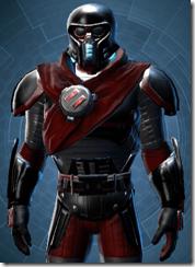 Firebrand Warrior Animated - Male Close