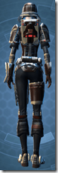 Contract Hunter - Female Back