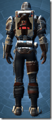Contract Hunter - Male Back