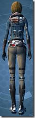 Laminoid Battle Pub - Female Back
