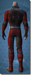 Sith Dueling - Male Back