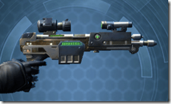 Enhanced Field Tech's Blaster Pistol