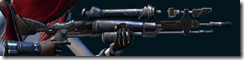 Dread Guard Combat Tech's Blaster Rifle