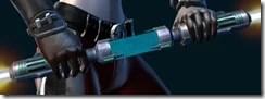 Dread Guard Stalker's Double-Bladed Lightsaber