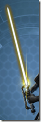 Energized Conqueror's Lightsaber