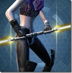 Energized Conqueror's Saberstaff