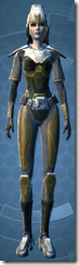 Panteer Loyalist - Female Front