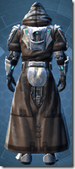 Venerable Ardent Blade Pub - Male Back
