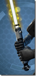 Volatile Derelict Lightsaber Close