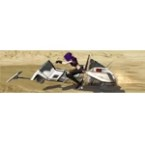 Custom-built Speeder Bike