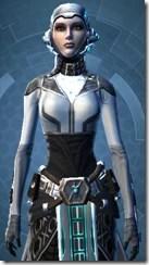 Energetic Combatant - Female Close