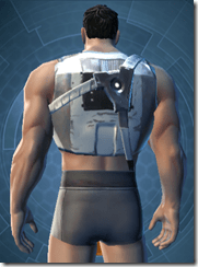 Minimalist Gladiator - Male Back