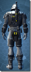 Volatile Shock Trooper - Male Back