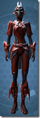 Obroan Inquisitor - Female Front