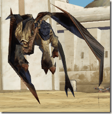 Golden Lizardbat - Front