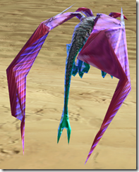Iridescent Lizardbat - Back