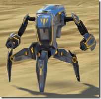 Micro-Defender Droid - Front