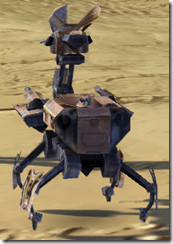 Miniature Isotope-5 Droid - Back
