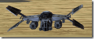 Model B28 Extinction-Class Bomber - Front