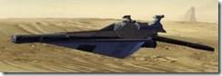 Model Terminus Destroyer - Side