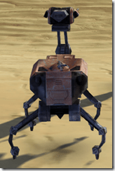 Recreational Isotope-5 Droid - Back