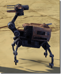 Recreational Isotope-5 Droid - Side