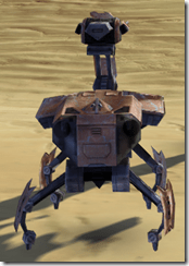 Refurbished Isotope-5 Droid - Back