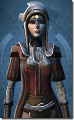 Venerable Battlemind Pub - Female Close