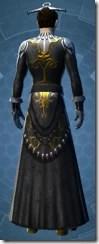 Elegant Dress - Male Back