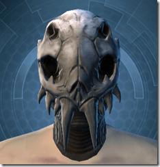 Trophy Hunter's Mask - Male Front