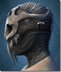 Trophy Hunter's Mask - Male Left