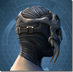 Trophy Hunter's Mask - Male Right